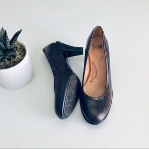 Sofft Brown Leather Pumps
